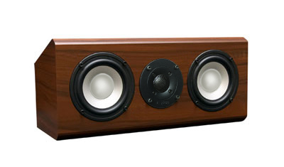 Rosewood Speaker with Nutmeg Stain in Semi Gloss Finish.