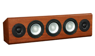 Oak Speaker with Nutmeg Stain in Semi Gloss Finish.