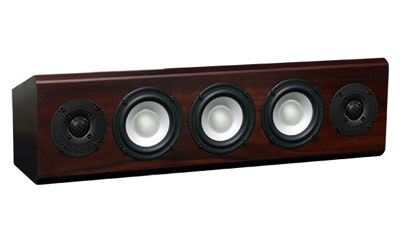 Rosewood Speaker with Chestnut Stain in Satin Finish.