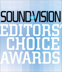 Epic 80 Home Theater Speakers received the Editors' Choice Award from Sound & Vision