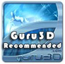The M2 Home Theater Speakers were awarded the Guru 3D Recommended Award