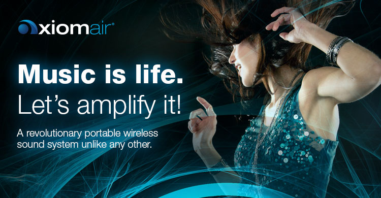 AxiomAir Wireless Speaker