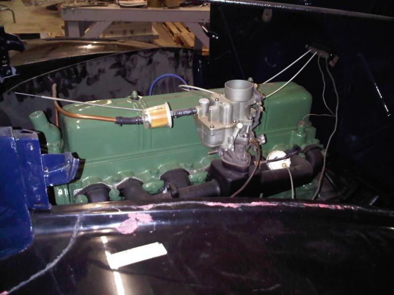 Engine block of the GMC 41.