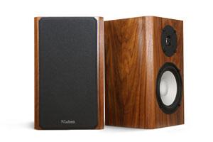 M2 Speakers in Walnut