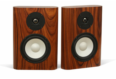 On Wall M3 Speakers in Natural Rosewood