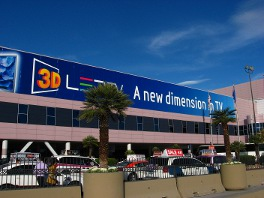 Big banners proclaimed 3D as the new dimension in TV
