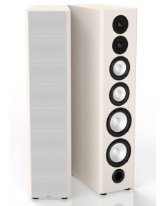 M80 High Powered Speakers Eggshell White (pair) B-Stock