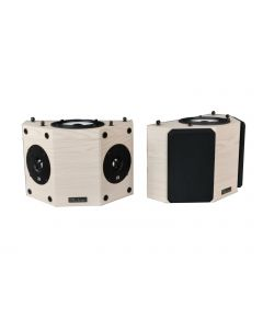 QS8 V2 Surround Speakers Maple Natural
