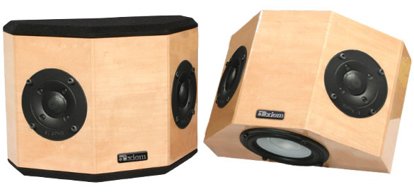 QS8 Surrounds in Maple with a Natural, High-Gloss Finish.