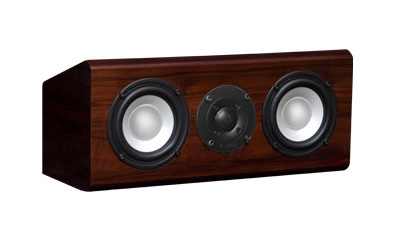 Rosewood Speakers with Chestnut Stain in Semi Gloss Finish.