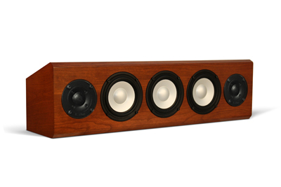 Cherry Speaker with Cinnamon Stain in Satin Finish no grille.