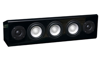 Black Speaker in High Gloss Finish.