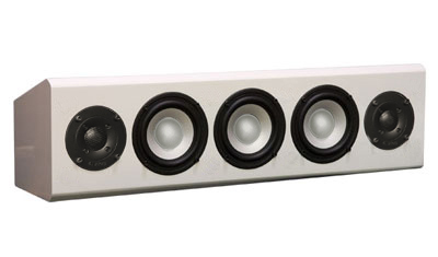 White Speaker in High Gloss Finish.