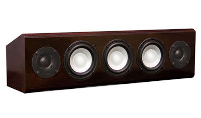 Cherry Speaker with Chestnut Stain in Semi Gloss Finish.