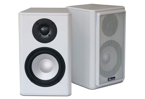 Algonquin Outdoor Speaker in Arctic White.