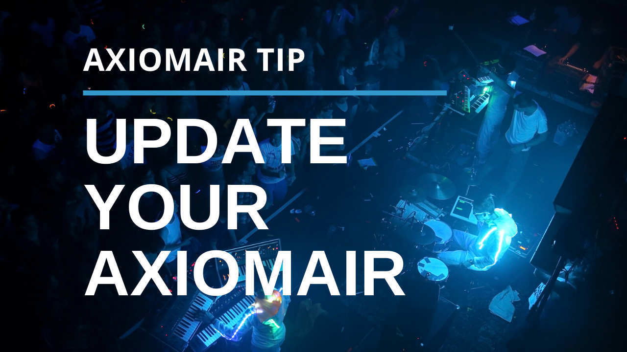Update Your AxiomAir