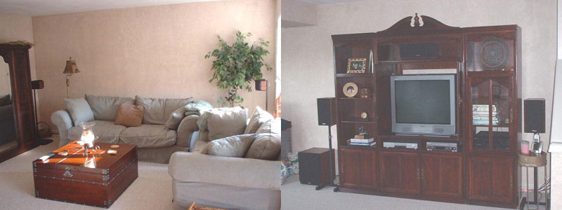 Rob L's Well-Coordinated Home Theater