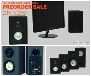 Axiom's New Computer Speakers