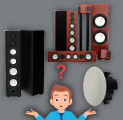 Different Music, Different Speakers?