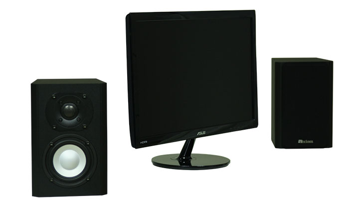 Axiom's New M1 Computer Speakers