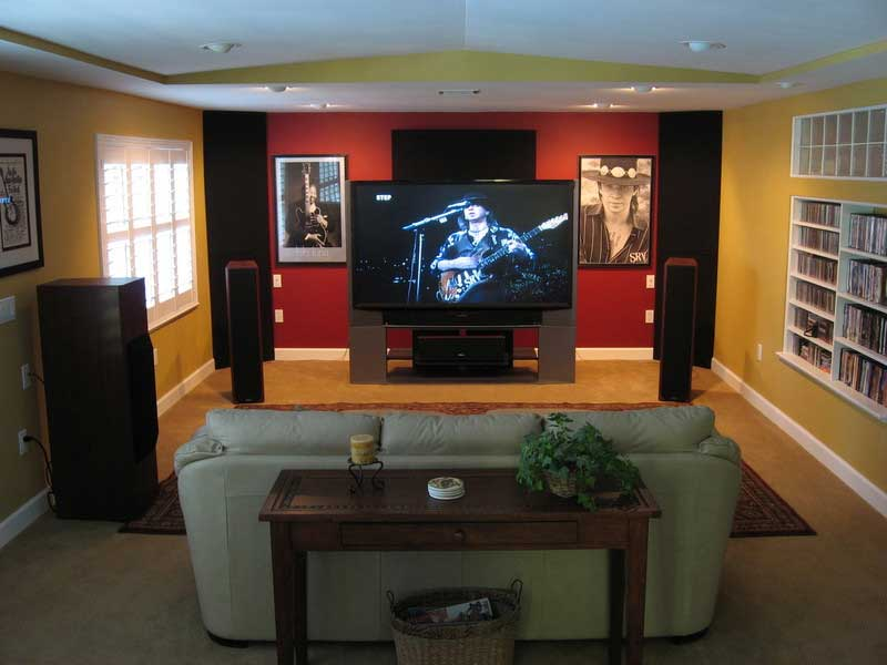 Home theater for hanging out