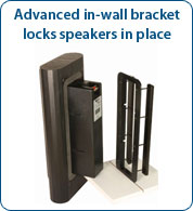 Speaker Bracket for Axiom In-Wall / On-Wall Speakrs