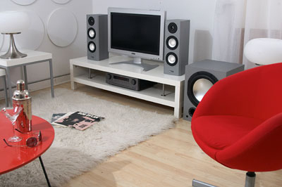 Home system with subwoofer
