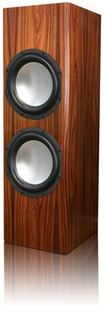 EP800 Powered Subwoofer in High Gloss Rosewood