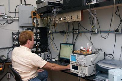 Ian Colquhoun at the LMS Computer