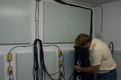 Ian Colquhoun Designing Loudspeaker in Power Test Room
