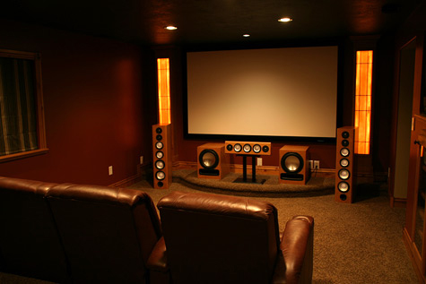 Projector Screen theater