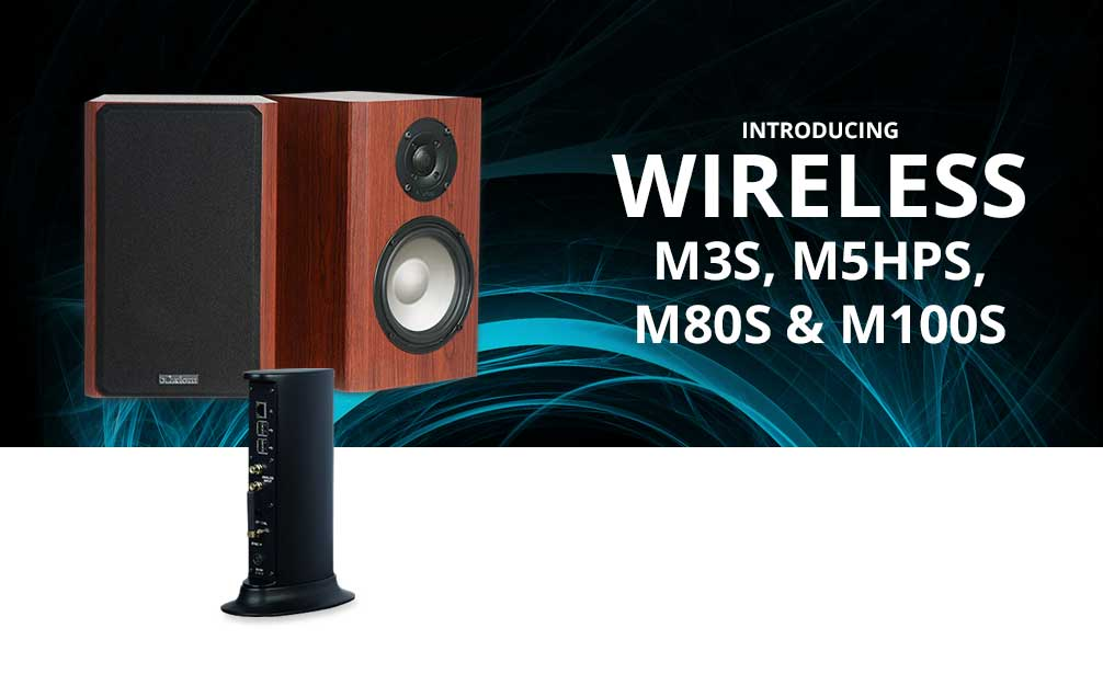 Axiom Introduces Wireless Speakers!